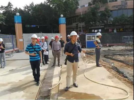 番禺区人防办积极推进石桥公园人防工程项目